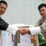 Donation of Desktop Computer to Bhutan Toilet Organization